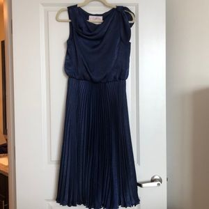 Gal Meets Glam Navy Cocktail Dress